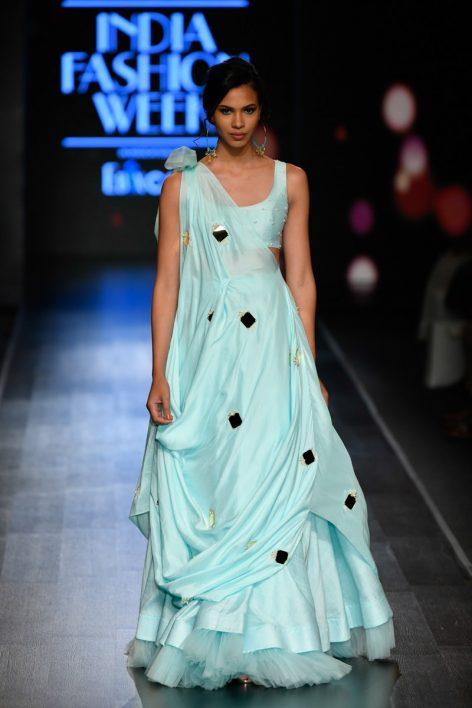Yogita Kadam at Lotus Make-Up India Fashion Week springsummer 2020